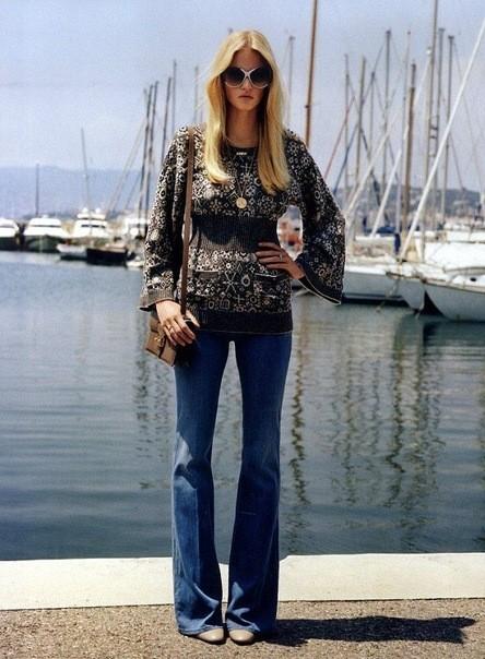Съёмка: Лара Стоун для британского Vogue. Изображение № 3.