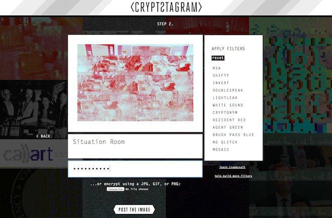 Инструмент Crypstagram шифрует сообщения и картинки. Изображение № 1.