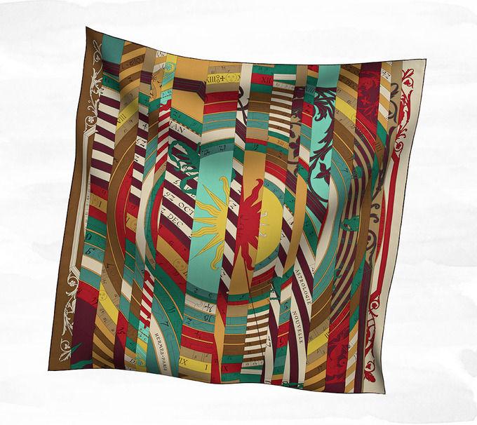 Классические шарфы Hermes. Изображение № 8.