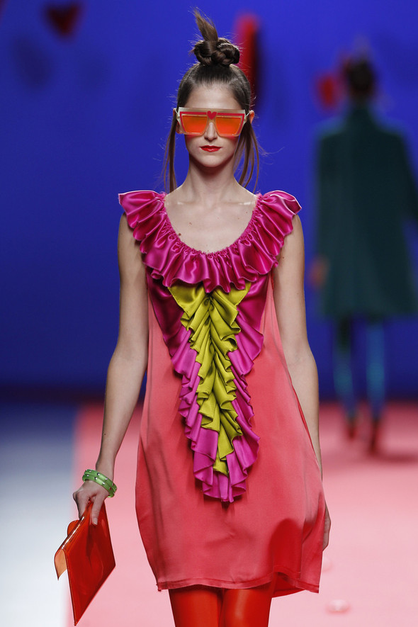 Испанцы Fall Winter 2011/2012: AGATHA RUIZ DE LA PRADA. Изображение № 18.