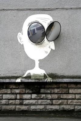 Очень крутой стрит-арт от Sandrine Estrade Boulet. Изображение № 15.