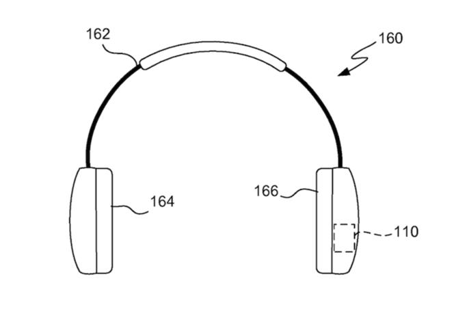 Apple запатентовала смарт-наушники для занятий спортом . Изображение № 1.