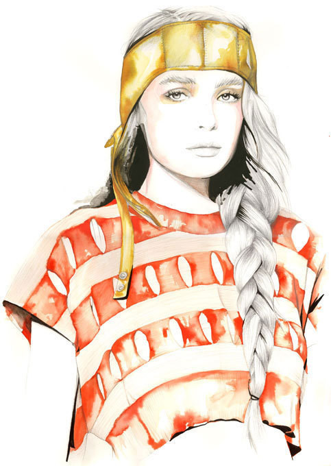 Изображение 7. Акварельные иллюстрации Caroline Andrieu.. Изображение № 7.
