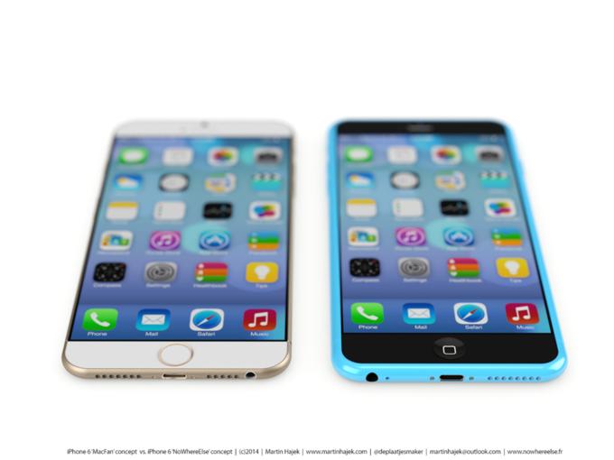 Дизайнер создал концепты iPhone 6s и 6c на основе «слива» из японского журнала. Изображение № 7.