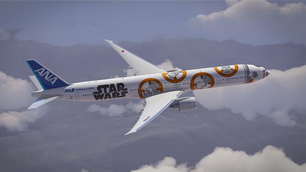 Авиакомпания показала перекраску самолёта под R2-D2. Изображение № 6.
