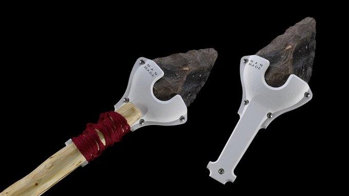 Дизайнеры воссоздали орудия Каменного века с помощью 3D-печати . Изображение № 3.