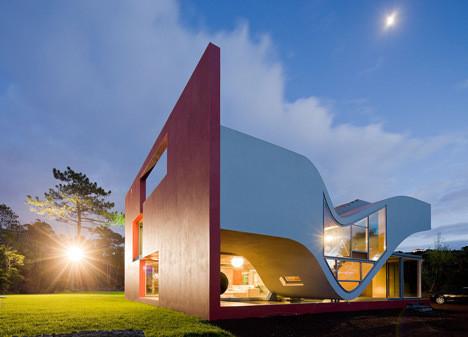 Изображение 1. Новый дом-птица архитектора Бернарду Родригеша.. Изображение № 1.
