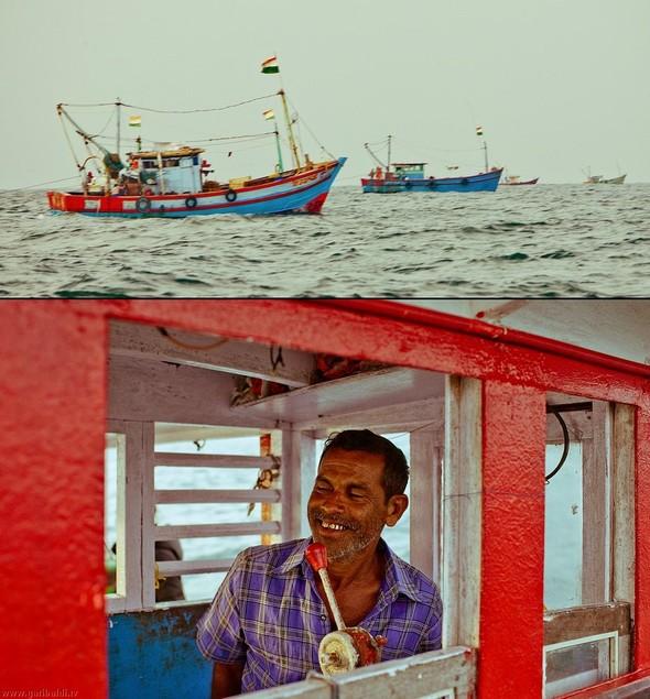 Shrimp boat MFR 646 DF GOA - Non stop. Изображение № 3.