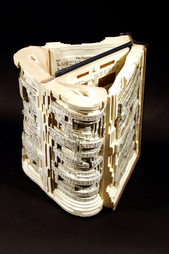 Book carving отБрайана Деттмера [Brian Dettmer]. Изображение № 13.