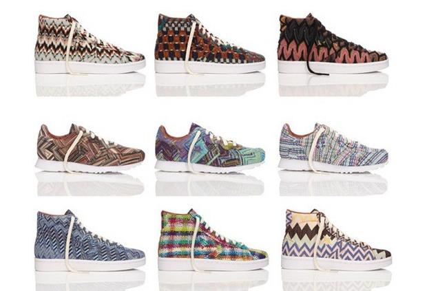 Converse и Missoni создали капсульную коллекцию обуви. Изображение № 1.