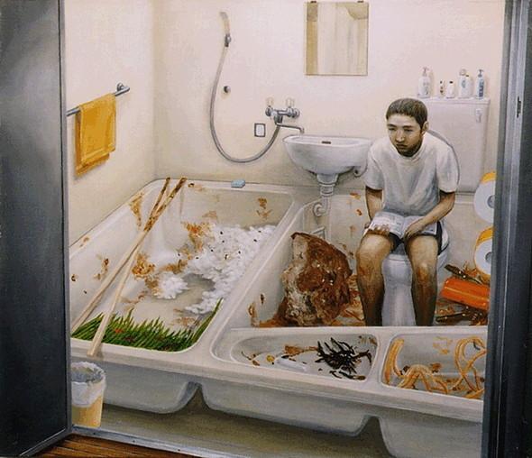 Творчество японского сюрреалиста Tetsuya Ishida. Изображение № 7.