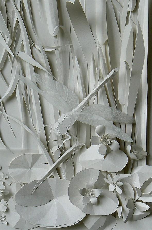 Бумажные картины-аппликации Helen Musselwhite. Изображение № 36.