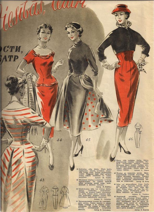 New-look по-советски или Уютная женщина эпохи ландышей. Изображение № 1.