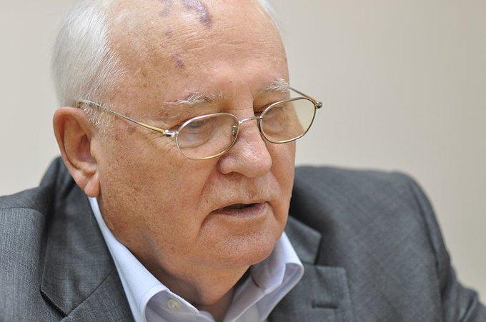 Михаил Горбачев (фото: Вени Марковски). Изображение № 1.