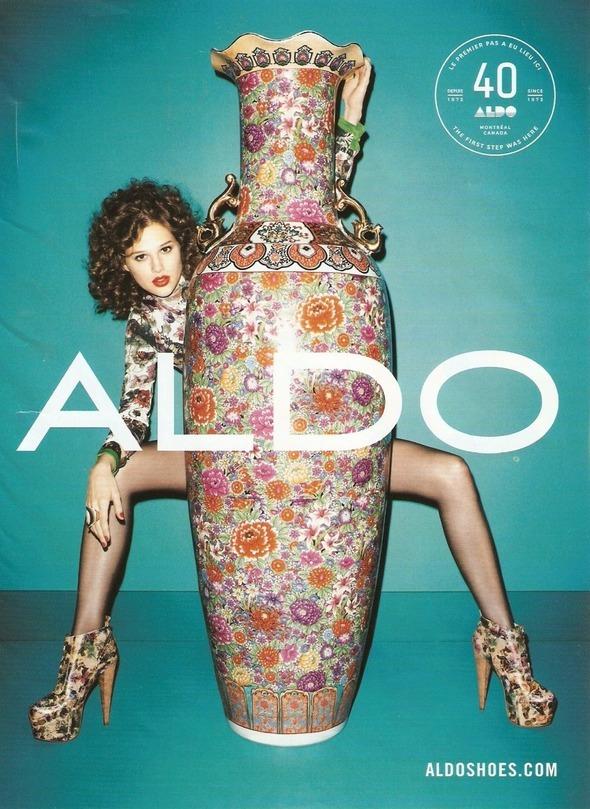 Превью кампаний: Nina Ricci, Aldo, Missoni, Valentino и DVF. Изображение № 10.