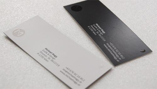 Изображение 28. 69 визиток, которые хочется подержать в руках.. Изображение № 28.