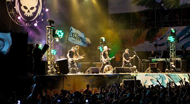 Группа Offspring на KUBANA: Фото via kubana.com. Изображение № 1.