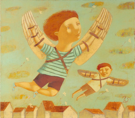 Наивная живопись Светланы Румак. Изображение № 18.