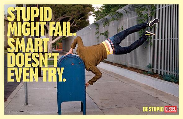 Кампания Be Stupid. Изображение № 5.