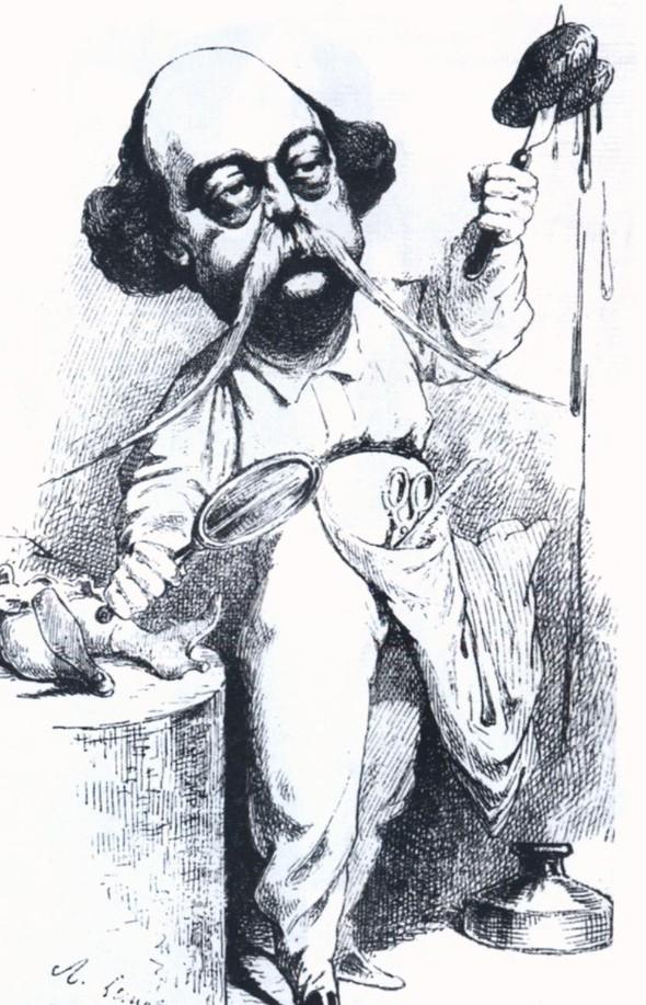 Карикатуры на писателей. Изображение № 38.