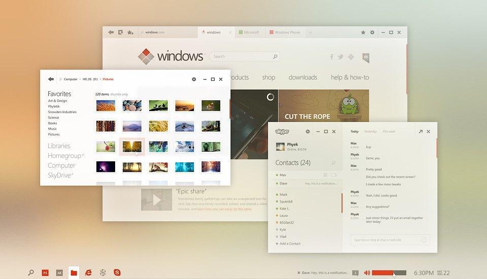 11 концептов Windows 9, которые лучше Windows 10. Изображение № 24.