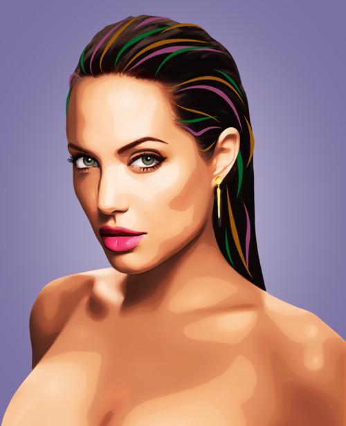 Три грации. Первая – Анджелина Джоли.  . Изображение № 9.