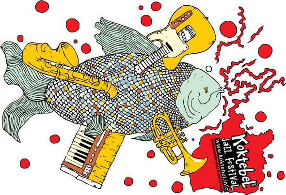 Изображение 5. Кастинг принтов для футболок SEKTA: Koktebel Jazz Fest.. Изображение № 5.