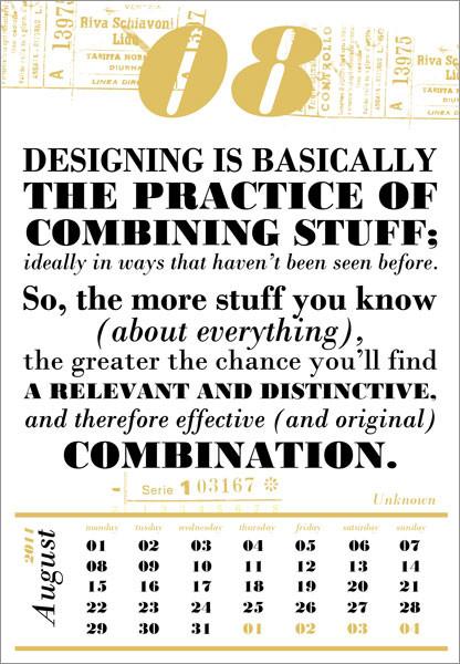 Календарь для дизайнеров от Harmonie Interieure. Изображение № 9.