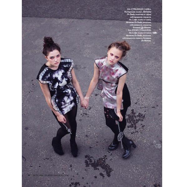 Новые съемки: Numero, Playing Fashion, Tangent и Vogue. Изображение № 16.