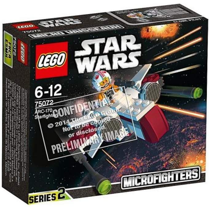 В Сеть «утек» секретный каталог Lego. Изображение № 2.