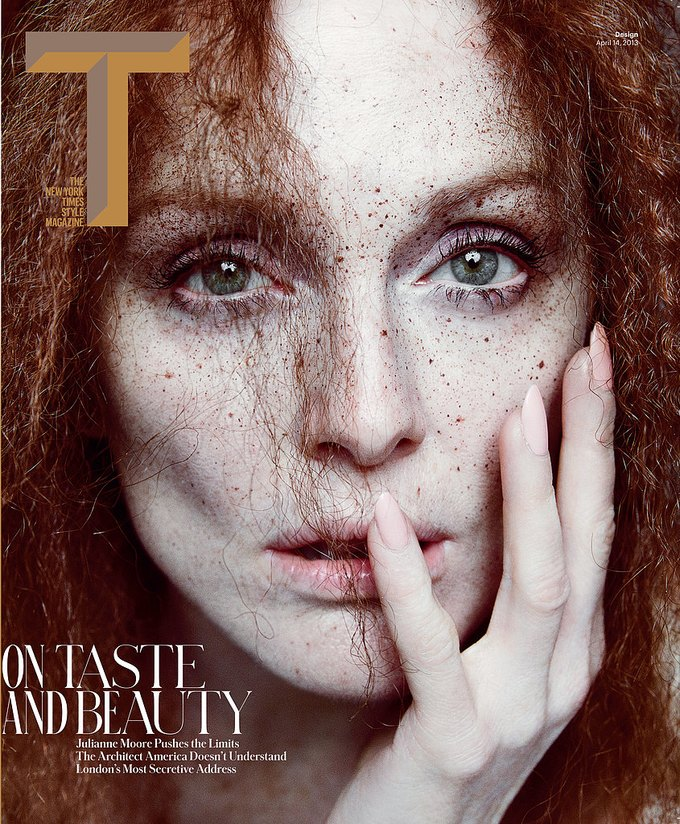 Показаны новые обложки Interview, T и Vogue. Изображение № 1.