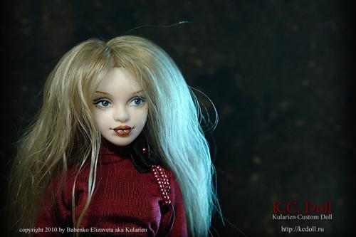 K.C.Doll. Миниатюра на шарнирах. Изображение № 8.
