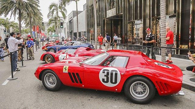 Фото: выставка суперкаров Ferrari в Беверли-Хиллз. Изображение № 2.