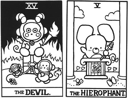 Hello Kitty Таро. Изображение № 5.