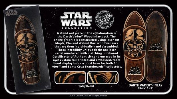Santa Cruz представила рекламу скейтбордов Star Wars. Изображение № 3.