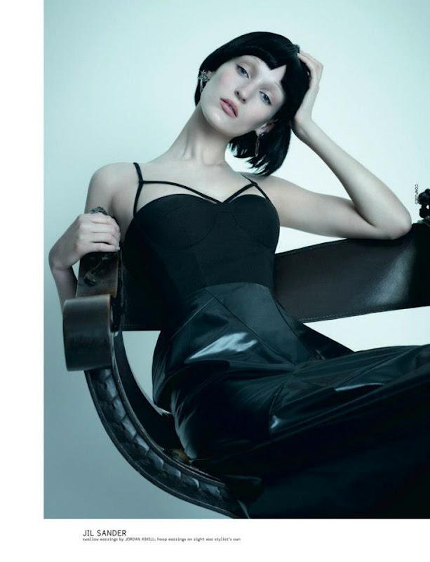 Новые съемки Dazed & Confused, Vogue, Pop и Madame Figaro. Изображение № 16.