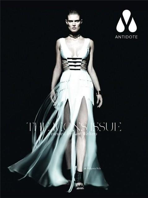 Супермодели на обложке Antidote Magazine. Изображение № 3.