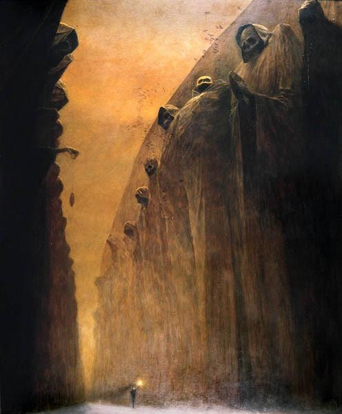 Архив работ Ждислава Бексински. Изображение № 5.