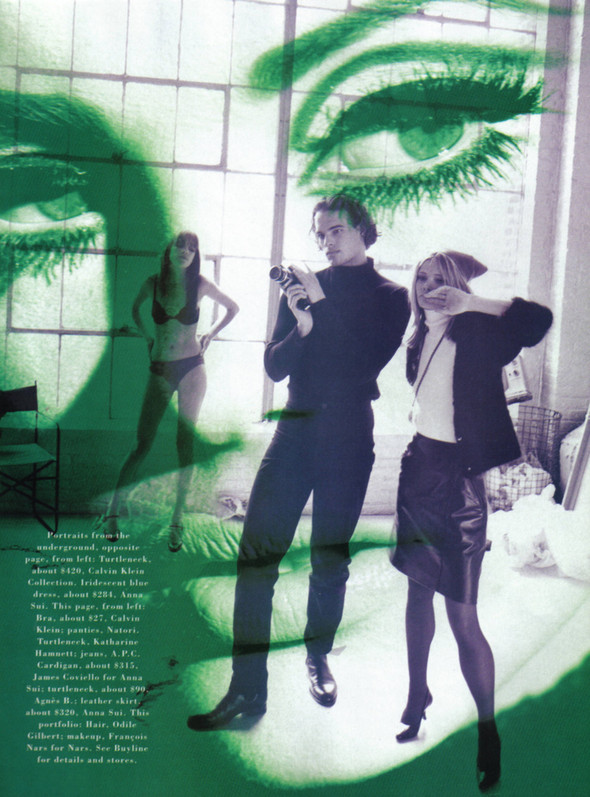 Архивная съёмка: Питер Линдберг для Harper's Bazaar, 1995. Изображение № 11.