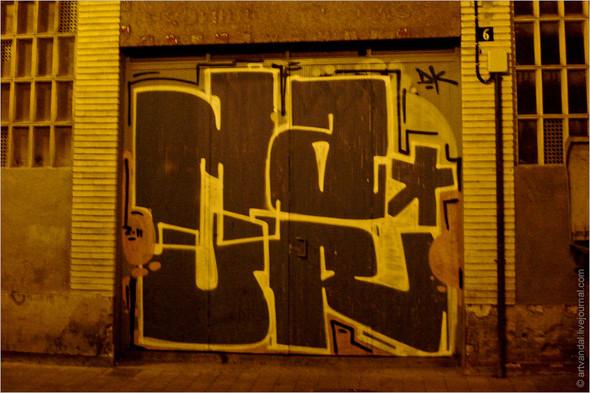 Стрит-арт и граффити Валенсии, Испания. Изображение № 17.