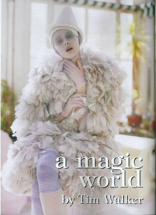 A Magic World (Vogue Italia January 2008 ). Изображение № 1.