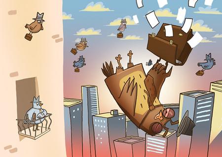 Ироничные иллюстрации Сергея Ратникова. Изображение № 4.