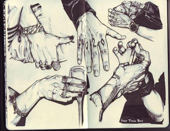 Я люблю черную ручку. Изображение №4.