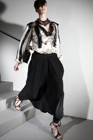 Изображение 49. Лукбуки Resort 2012: Givenchy, Lanvin.. Изображение № 48.