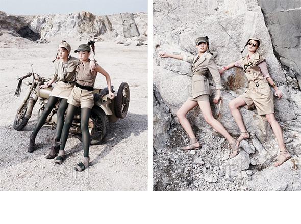 Новые лица: Хлое, Лорен и Со Янг. Изображение № 44.