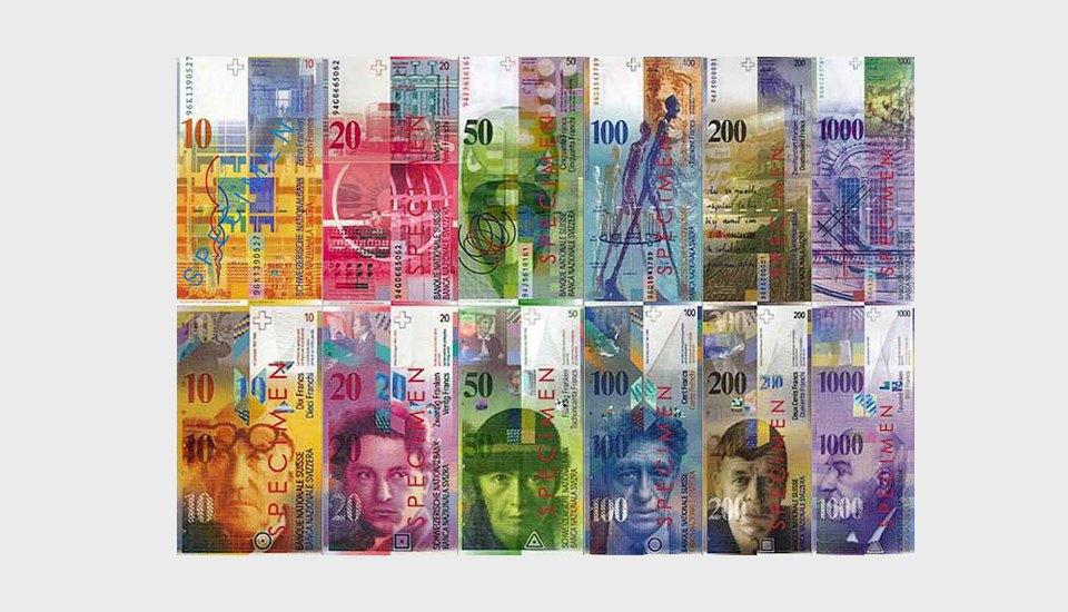 Новые швейцарские франки
