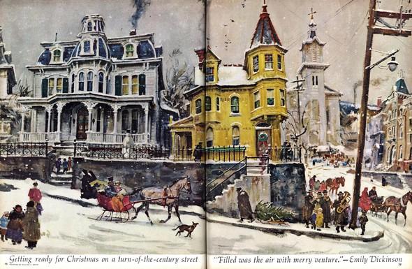 Американские иллюстраторы 40–60гг. ЧАСТЬ 1. Изображение № 46.