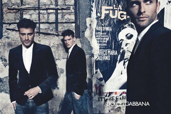 Мужские кампании: Fendi, Dolce & Gabbana и Ralph Lauren. Изображение № 5.