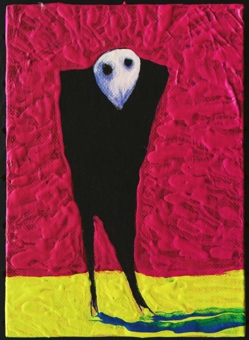 Тим Бартон в роли художника. Изображение № 11.