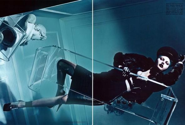 Съёмка: Стивен Кляйн для итальянского Vogue. Изображение № 14.